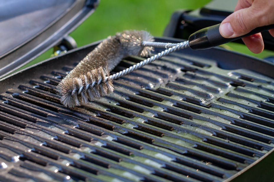 Master Cleaning Grill