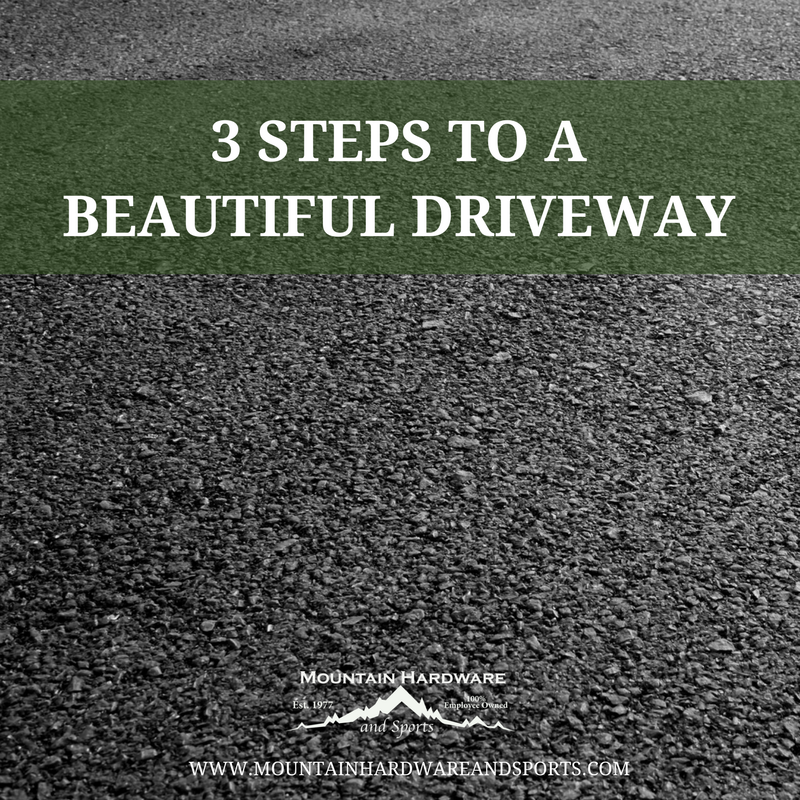 3 steps to a beautiful driveway mountain hardware solutioingenieria Image collections