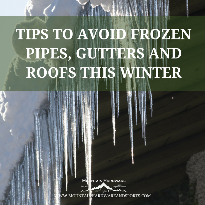 Tips To Avoid Frozen Pipes Gutters And Roofs This Winter